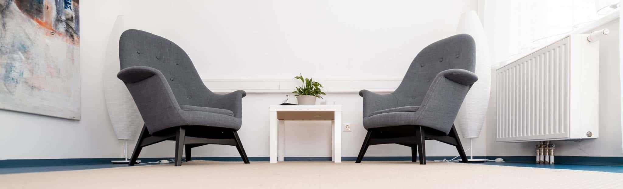 Sessel in einer Praxis